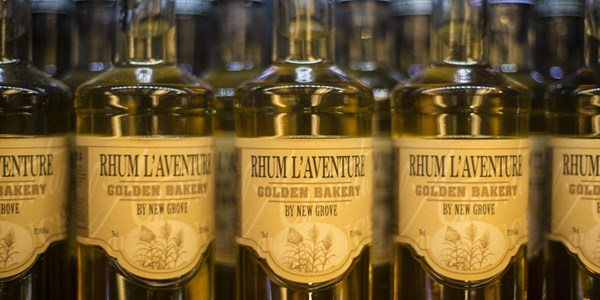 L'Aventure rum with special sugars: Golden Bakery - L'Aventure du Sucre