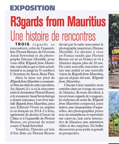 L'Express - Regards from Mauritius