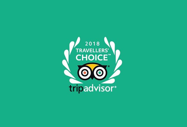 Traveller's Choice Award 2018